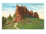 Red Rocks, Boulder, Colorado Kunstdruck