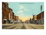 Tejon Street, Colorado Springs, Colorado Poster