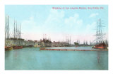 Harbor at San Pedro, California Photo