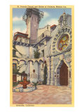 St. Francis Chapel, Mission Inn, Riverside, California Posters