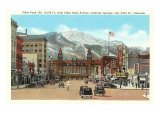 Pikes Peak, Colorado Springs, Colorado Poster