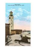 Lighthouse, Havana, Cuba Print