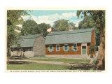 Lathrop School, Norwichtown, Connecticut Posters