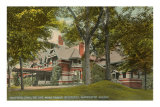 Mark Twain House, Hartford, CT Art Print