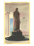 Jefferson Statue, Washington D.C. Posters