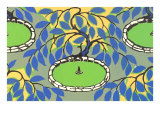Fountains, Decorative Arts Print