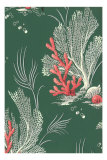 Coral Decorative Arts Poster
