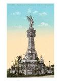 Firemen's Monument, Havana, Cuba Posters