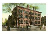 High School, New Haven, Connecticut Print