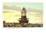 Sperry Lighthouse, New Haven, Connecticut Print