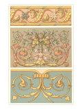 Arte decorativa rinascimentale Stampa