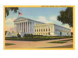 Supreme Court, Washington D.C. Print