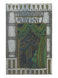 Theatre Moderne Window, Decorative Arts Posters