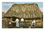 Cuban Village Print