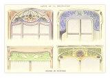 Window Treatments, Decorative Arts Print