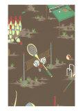 Sports Decorative Arts Posters