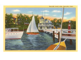 Yacht Club, Norwalk, Connecticut Posters