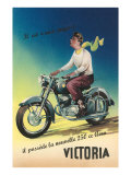 Victoria Motorcycle Advertisement Posters