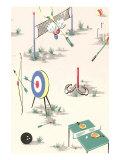 Sports Decorative Arts Print