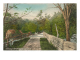 Bridge at Nineveh, Connecticut Print