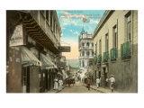 St. Thomas Street, Santiago de Cuba Posters