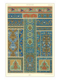 Persian Decorative Arts Giclee Print