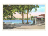 Columbia Lake, Connecticut Print