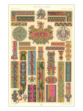 Middle Ages Decorative Arts Poster