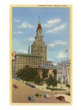 Travelers Tower, Hartford, Connecticut Kunstdruck