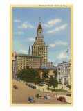 Travelers Tower, Hartford, Connecticut Poster