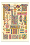 Celtic Motifs, Decorative Arts Poster