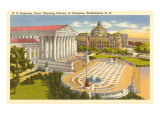 Supreme Court, Washington D.C. Poster
