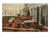 Supreme Court Room, Washington D.C. Print