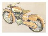 Motorcycle Print