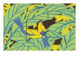 Parrots, Decorative Arts Poster