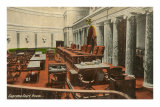 Supreme Court Room, Washington D.C. Posters