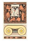 Arte decorativa romana Poster