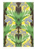 Flowers, Decorative Arts Print