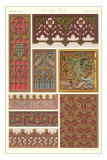 Middle Ages Decorative Arts Posters