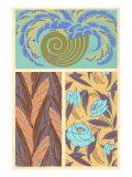 Arte decorativa in tre parti Poster