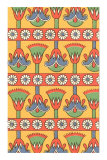 Egyptian Lotus Decorative Arts Posters