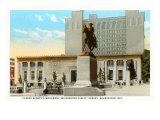 Caesar Rodney Statue, Wilmington, Delaware Print
