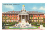 Walter Reed Hospital, Washington D.C. Giclee Print