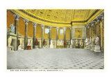 Statuary Hall, Capitol, Washington D.C. Poster