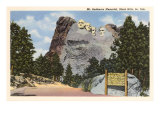 Mt. Rushmore, South Dakota Poster
