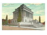 Scottish Rite Temple, Washington D.C. Poster