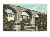 Bridge over Brandywine, Wilmington, Delaware Posters