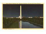Reflecting Pool, Washington Monument, Washington D.C. Posters