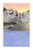 Mt. Rushmmore, South Dakota Posters
