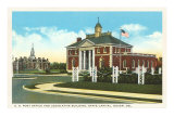 Post Office, Dover, Delaware Posters